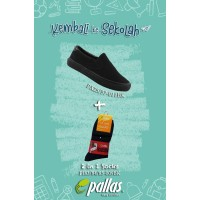 Pallas X Series School Shoe Slip On PX25-011 Combo