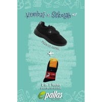 Pallas X Series School Shoe Single Velcro Strap PX25-107 Combo