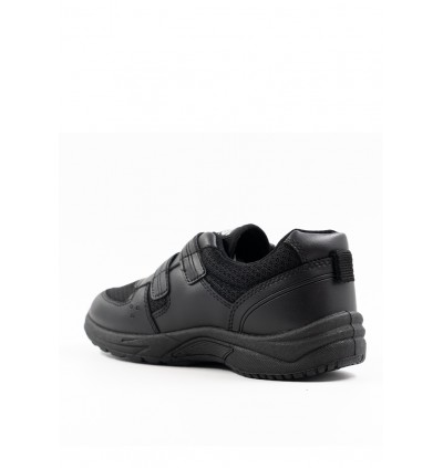 Pallas School Shoe Jazz Single Velcro Strap 205-0196 Black 2nd