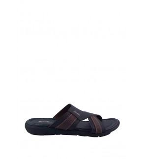 Pallas Freetime Slipper 717-0804 Dark Brown