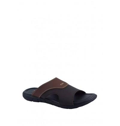 Pallas Freetime Slipper 717-0805 Dark Brown