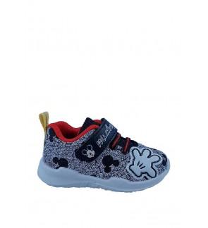 Pallas x Mickey Sport Shoes MK22-048 Black