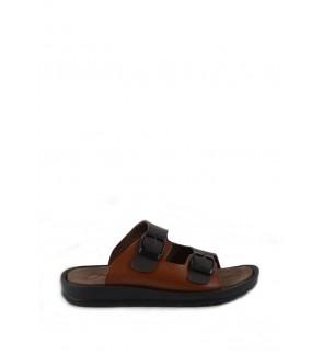 Pallas Freetime Slipper 715-0215 Dark Brown