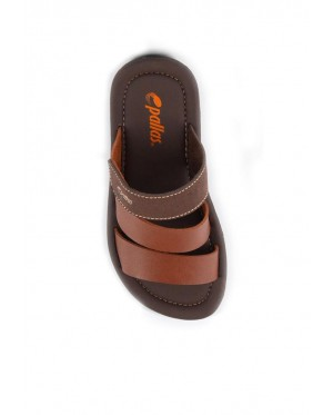 Pallas Freetime Slipper 715-0216 Brown
