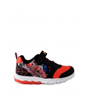 MARVEL SPIDER-MAN BOYS RED SPORT SHOE WITH LIGHTS_MV25-004 (PALLAS)