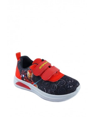 Pallas x Marvel Avengers Sport Shoe MV22-005 Red ( With Lights )