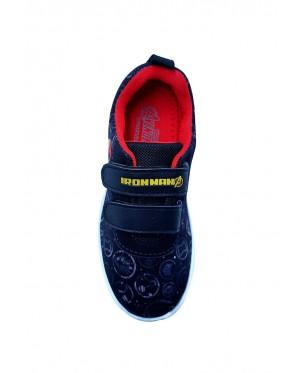 Pallas x Marvel Avengers Sport Shoe MV22-005 Black ( With Lights )