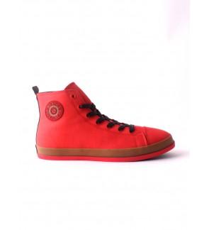 Pallas Jazz Star Hi Cut Shoe Lace JS07-0137 Red