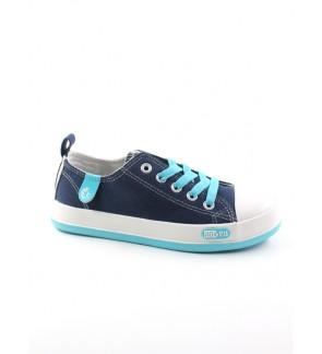 Pallas Jazz Star Lo Cut Shoe Lace 405-034 Blue