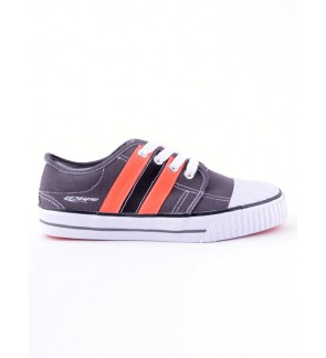 Pallas Rejam Lo Cut Shoe Lace  RJ07-003 Dark Grey