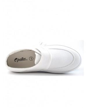 Pallas School Shoe Jazz Single Velcro Strap 204-031