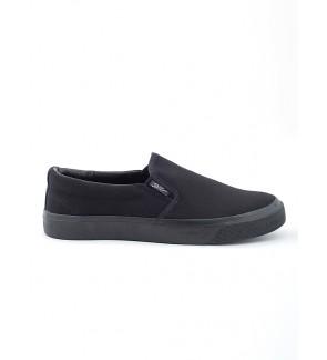 Pallas School Shoe Jazz Slip On 407-0112 All Black