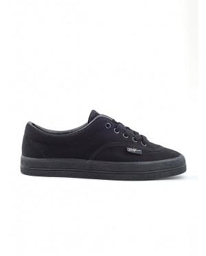 Pallas School Shoe Jazz Lo Cut Shoe Lace 7328 Black
