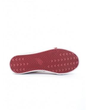 Pallas School Shoe Jazz Three Velcro Straps 205-0166 White