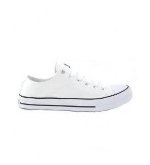 Pallas School Shoe Jazz Star Lo Cut Shoe Lace 307-196 White
