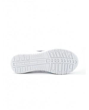 Pallas School Shoe Jazz Single Velcro Strap 204-034 White