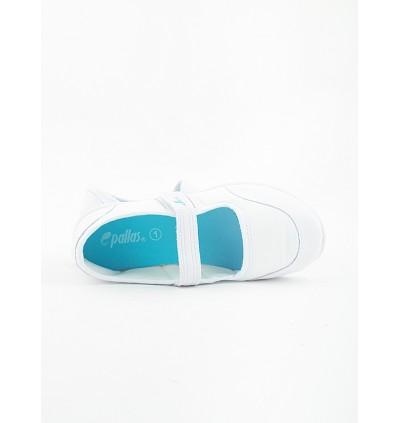 Pallas School Shoe Jazz Single Velcro Strap 204-034