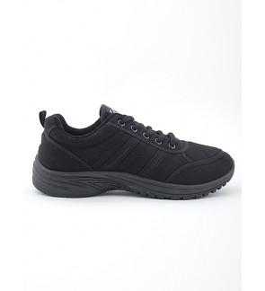 Pallas School Shoe Jazz Lo Cut Shoe Lace 306-0170 Black