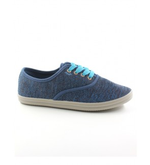 Pallas Jazz Star Low Cut Shoe Lace 406-0116 Dark Blue