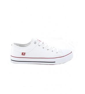 Pallas X Series School Shoe Lo Cut Shoe Lace PX37-105 White