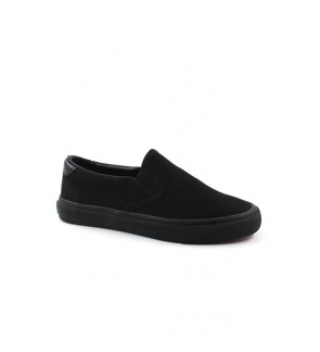 Pallas X Series School Shoe Slip On PX25-011 Black