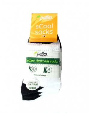 Pallas Quarter Socks PI62-006 W