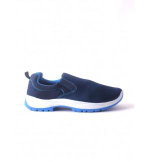 Pallas Jazz Slip On 407-0316 Navy Blue
