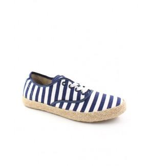 Pallas Jazz Star Lo Cut Shoes Lace JS06-035 Navy Blue