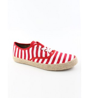 Pallas Jazz Star Lo Cut Shoes Lace JS06-035 Red