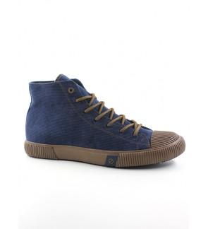 Pallas Jazz Star Hi Cut Shoes Lace JS07-0154 Navy Blue