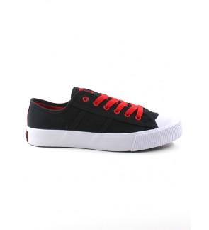 Pallas Jazz Star Lo Cut Shoes Lace 407-0321 Black