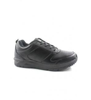 Pallas School Shoes Jazz Lo Cut Shoes Lace 306-0193 Black