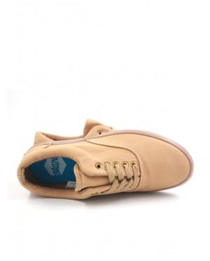 Pallas Jazz Star Lo Cut Shoes Lace 407-0324 Light Brown