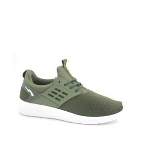 Pallas Stanz Lo Cut Shoes Lace 847-086 Olive