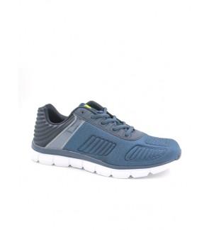Pallas Stanz Lo Cut Shoes Lace 847-087 Navy Blue