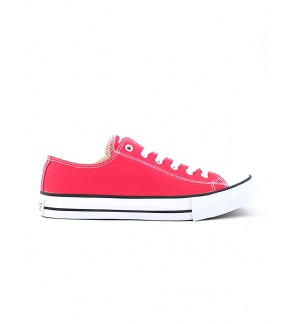 Pallas Jazz Star Lo Cut Shoes Lace 407-196 Red