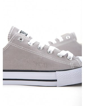 Jazz Star Lo Cut Shoe Lace 407-196 Light Grey