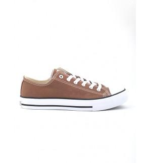 Pallas Jazz Star Lo Cut Shoes Lace 407-196 Light Brown