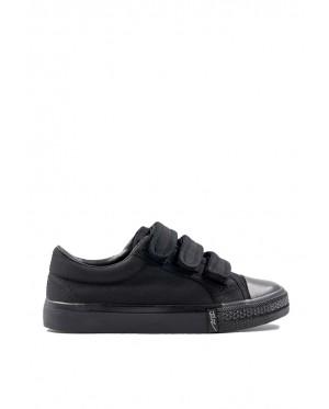 Pallas School Shoe Jazz Three Velcro Straps 205/307-0198