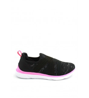 Jazz Star Lo Cut Slip On JS06-042 Black